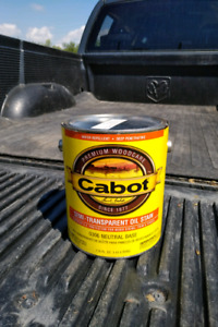 Cabot Deck and Siding Stain