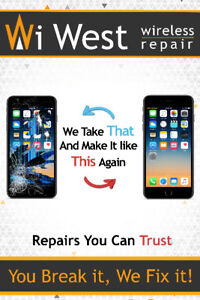 iPhone, Android, iPad Repairs, cases and screen protection