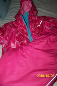 girls 3pc snow suit hot paws