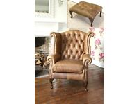 WANTED - Chesterfield Style Chair in Brown