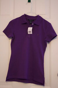 Brand New Purple Women's Tommy Polo