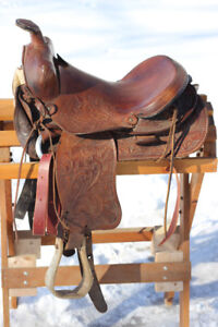 Will swap both saddles for a 17-18 in western in good condition