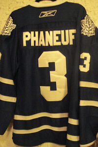Phaneuf #3 Maple Leafs Jersey