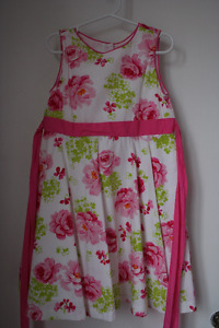Variety of Summer Dresses (Size ranges 5-6X)