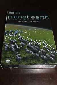 BBC Planet Earth DVDs