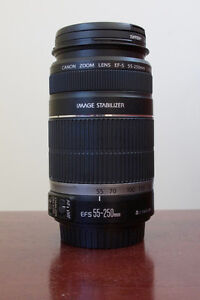 Canon EFS 55-250 f/4-5.6 IS Lens