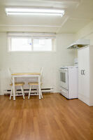 Basement appartement available now