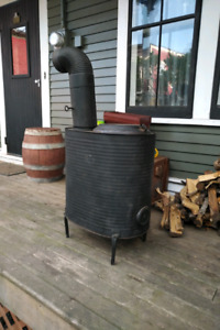 Portable Wood Stove for Camp Shed or Shack