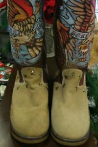 Ed Hardy Snowblazer winter boots