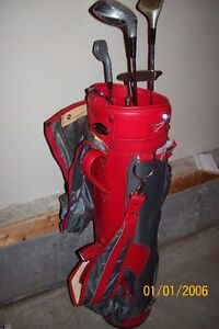 Golf bag and clubs for sale!