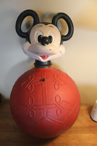 Vintage Mickey Mouse Bouncy Ball London Ontario image 1