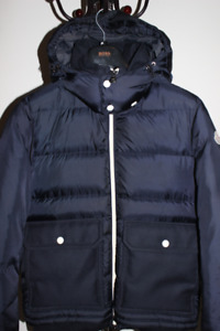 Moncler Authentic Navy Jacket Unworn