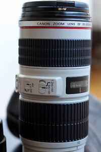 Canon 70-200 F4 IS Lens+ BW UV