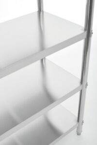 STAINLESS STEEL SHELVING UNITS - COMMERCIAL GRADE, FREE DELIVERY