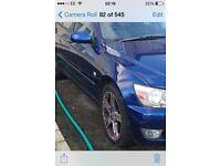 Lexus is200 blue 8m6 driver off side 98-05 breaking spares is 200 is300 sporcross