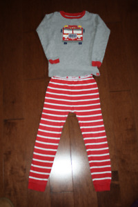 Long Sleeve Firetruck Baby GAP pyjamas- 5T
