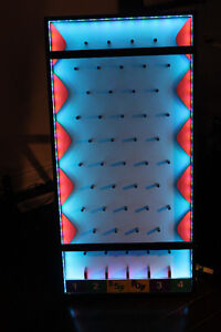 LED plinko board.