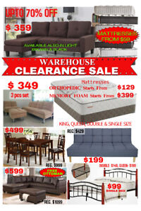 FACTORY OUTLET - SECTIONAL SOFA SETS