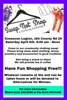 "Community Clothing ""SWAP not SHOP"""
