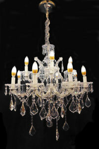 Nera 12-Light Candle-Style Crystal Chandelier - 30% Off