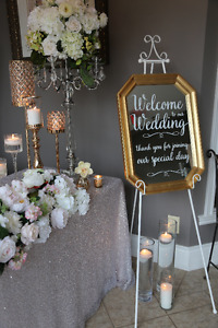 Wedding Day Welcome Sign Mirror Rental