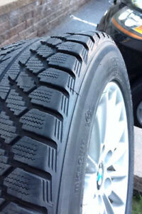 BMW Winter tiers on Original Rims 225/55R16 or for any car