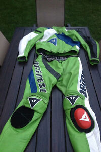 Dainese Motorcycle 2 piece zip up suit London Ontario image 1