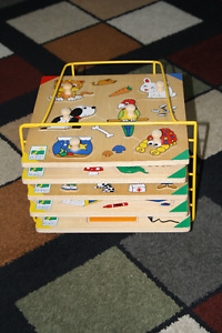PRE-SCHOOL LIFT AND LEARN PUZZLES