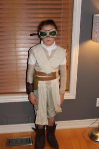 Disney Girls Star Wars The Force Awakens Rey Costume