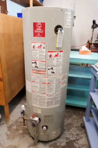 Power Vent Natural Gas Water Heater, 50 Gal US with fitting