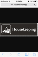 Housekeeping / Whole Home @ $75/day