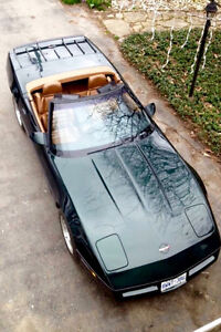 Six speed manual corvette roadster,Canadian Car fully documented
