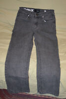 Asortment of boys pants & tops size 8