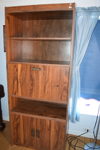 Cabinet with fold-out writing desk