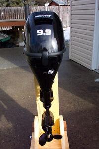New Mercury 9.9 outboard shortleg