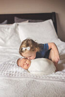 In Home Newborn Photography Session