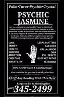 Psychic Jasmine - Call for 2 Free Questions -100% satisfaction