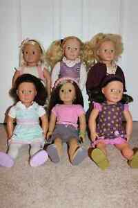 American and Generation Dolls and Accessories