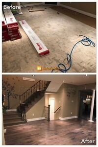 General Contracting, Basement Finishing, Bath Reno, Interlocking Cambridge Kitchener Area image 3