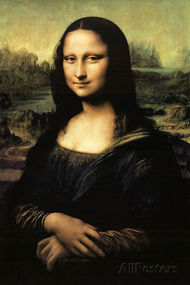 Mona Lisa Poster Print by Leonardo da Vinci, 24x36