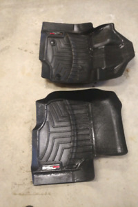 Weather Tech front floor mats for F150