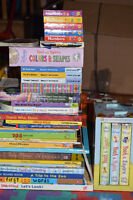 Lot of toys and books
