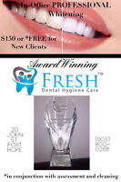 AWARD WINNING Fresh Dental Hygiene Care - FREE Whitening Offer!
