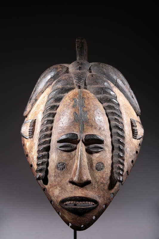 Art African Mask Ibo 278