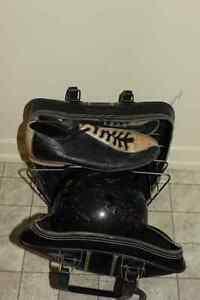 Grosse boule quilles hommes et souliers / 8 + sac de transport.