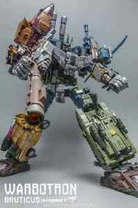 Warbotron bruticus WB01 full set masterpiece Transformer