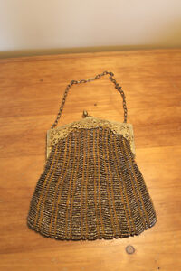 Old Antique Beaded Purse/Evening Bag London Ontario image 2