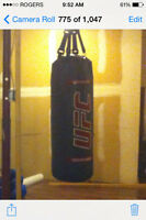 100 pound UFC punching bag