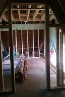 carpenter helper seeking contractor finishing and reframing