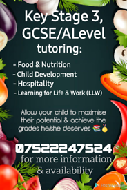 Tutoring (online or in person available)